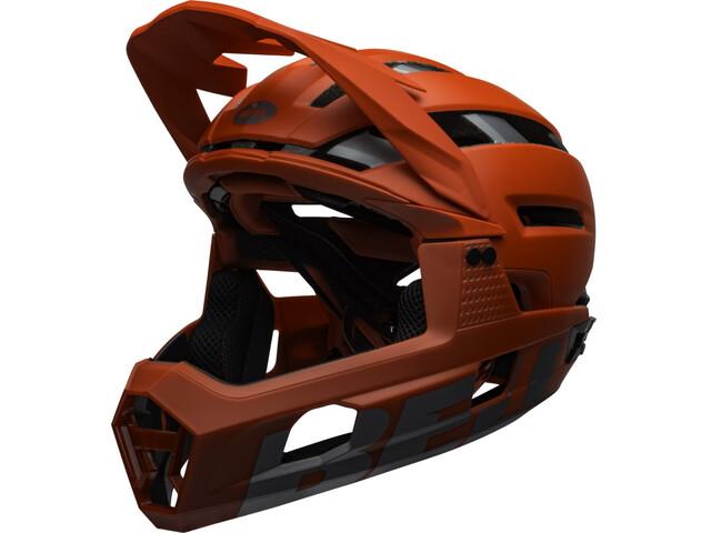 Bell Super Air R MIPS Helm, matte/gloss red/gray